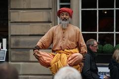 Street Performer, Edinburgh Festival Fringe (Secondcity) Tags: edinburgh streetperformer edinburghfestivalfringe