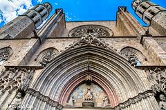 Santa Maria del Mar 2 - Barcelona (rossendgricasas) Tags: church urban photography arquitectura exploration hdr nikon barcelona lightroom catalonia tamrom gothic style gtic santamariadelmar