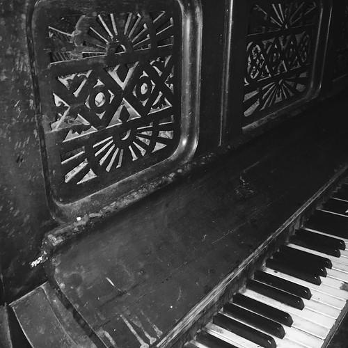 Janis Joplin's piano
