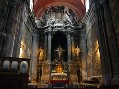 Sao Domingo altar 2 (PhillMono) Tags: panasonic lumix travel tourist portugal lisbon art architecture baroque history heritage church faith holy place cathedral shrine altar