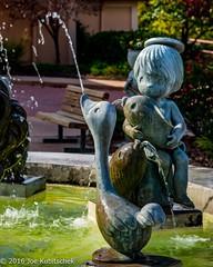 Water Feature Statue (Kuby!) Tags: kubitschek kuby nikon d810 october 2016 carthage missouri mo precious moments chapel gift shop displays