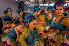 Pueblo Dancers (Guille Ibanez) Tags: dancers dance mayorette andalucia south spain peacock pavoreal nias parade fuji fujix xt1 baza
