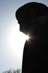 In the Shadow (Eloise Oatley) Tags: kamakura temple kamakurashi kanagawa japan zen shinto buddhist garden jp statue statues stone