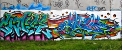 Choise Kezam (kezam) Tags: graffiti graff melbournegraffiti street art 3dgraffiti ironlak production