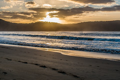 Sunrise at the beach (Merrillie) Tags: daybreak uminabeach landscape nature australia nswcentralcoast newsouthwales sea nsw beach ocean centralcoastnsw umina photography waves outdoors seascape waterscape centralcoast water sunrise