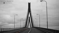 Raippaluoto (SamppaKoo) Tags: brigde silta bw raippaluoto 2016 finland vaasa mustavalkoinen monochrome