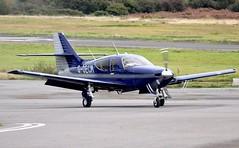 G-OECM (goweravig) Tags: goecm rockwell commander visiting aircraft swansea wales uk swanseaairport