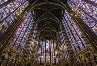 Sainte Chapelle - Capilla alta