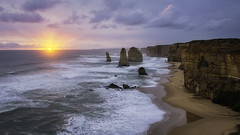 Twelve Apostels (Yuga Kurita) Tags: australia seascape twelve apostels great ocean road victoria southern hemisphere oceania sunset landscape nature antarctic