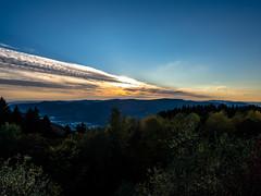 Sunset (jonasschmidt1909) Tags: sauerland olympus em10 sunset autumn great view sun oberbecken
