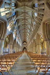 Inside Wells Cathedral (Pagnobito) Tags: nikon cathedral interior sigma wells 1020mm hdr topaz photomatix d7100