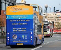 525 (Callum's Buses & Stuff) Tags: ocean bus buses edinburgh tour open d top dennis majestic denis lothian trident lothianbuses edinburghbus majestictour dennins dennislothianbuses