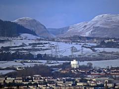 Water And Ice (Bricheno) Tags: snow scotland watertower escocia hills fells paisley szkocja schottland dumgoyne campsies clydebank campsiefells drumchapel scozia cosse kilpatricks  esccia   bricheno scoia