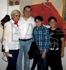 5.- Marisela Gutiérrez de García, Miguel García Ahedo y Marcelo y Miguel García Gutiérrez 2