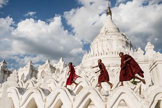 Hsinbyume Pagoda, Myanmar