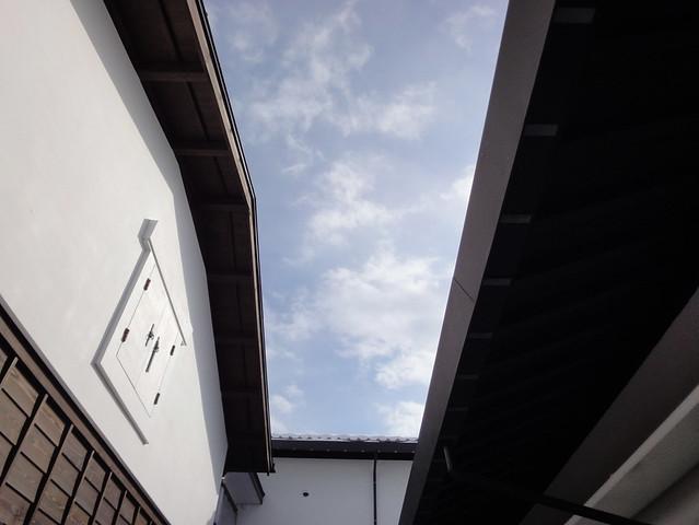 施設とは関係ありませんが、青空と雲好きとして写真を1枚。|飛騨高山まちの博物館