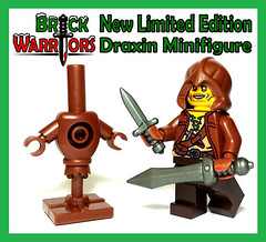 Holiday Gift Guide From A-Z: O is for Oh Yes! There's a New Limited Edition Minifigure (MandaBW) Tags: lego ryan medieval fantasy minifigs custom weapons riddle thriller minifigure hauge regicide pentavia stormgarde draxin brickwarriors