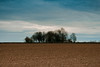 Winter Furrow. (Net_Ski) Tags: trees winter england sky cloud cold field canon landscape countryside mud cloudy earth gloucestershire soil 365 greysky ploughed copse furrow netski canoneos700d efs1855mmf3556isstm eos700d