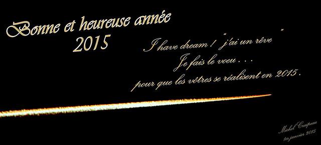 bonne année 2015 A tous les Flickeurs (ses)