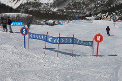Entre Snowpark (gourette domaine skiable) Tags: snowpark gourette 2015