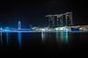 Marina Bay (giu.spad) Tags: new city eve travel roof water pool wheel marina reflections photography lights bay nikon singapore asia cityscape peace view nye calm resort years sands d300 spadaforaphoto