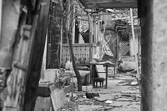 Derelict (Dr. Harout) Tags: street bw house monochrome noiretblanc sony ruin streetphotography armenia yerevan derelict slt amount dyxum rokinon dslra700 stphotographia rokinon8514