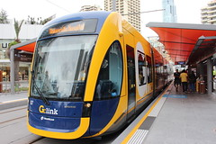 G:link 02/01/15 (Darcy Reynolds) Tags: tram lightrail bombardier goldcoast lrv lightrailvehicle glink gclr flexity2 goldcoastlightrail goldcoasttram gclightrail flexityii