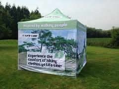 Quick Folding Tent - Tent met bedrukking