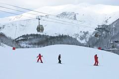Serpentin (gourette domaine skiable) Tags: ski pistes gourette 2015 stationski