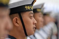 Chinese Sailors on Visit to Portsmouth (Defence Images) Tags: china uk military navy chinese visit hampshire portsmouth british sailor foreign defense defence pla peoplesliberationarmynavy planavyshipchangbaishan