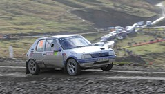 Peugeot 205 - Deeley (rallysprott) Tags: car sport wales nikon sweet rally national gb lamb motor peugeot 205 rallying 2014 d300 sprott deeley wdcc rallysprott