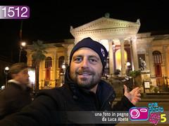 Foto in Pegno n 1512 (Luca Abete ONEphotoONEday) Tags: panorama teatro sicily 20 palermo sicilia massimo gennaio selfie 2015 1512