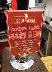 Brian's brew, 4449 Red - at our branch 2015 AGM (selcamra) Tags: beer camra realale sp4449 southernpacific4449 campaignforrealale selcamraagm southwarkbrewery southwarkbrewing 2015agm