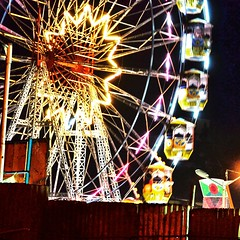 Giant wheel (rgujju) Tags: park india amusement circus pune