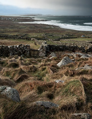 Bloody Foreland, Donegal (Shaun Heaney) Tags: ireland winter sea rain clouds rural sunrise landscape countryside stones walls donegal