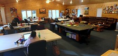 Scrapbooking retreat (Ryner12) Tags: wisconsin scrapbooking heidi amy aimee cumberland beavercamp