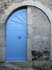demie-porte à Mirmande (sabine-43) Tags: drôme mirmande