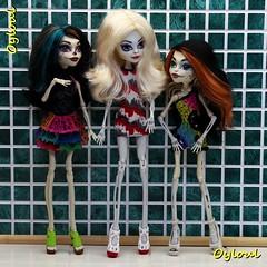 190. Monster High Skeletons (OylOul) Tags: monster high doll ooak cam 16 create custom