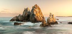 Camel Rock (laurie.g.w) Tags: sunset rock coast long exposure south shoreline camel nsw sapphire bermagui eascape
