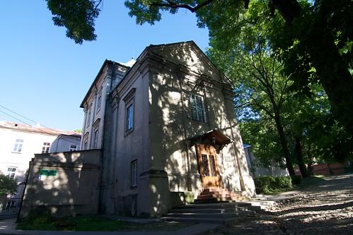 Dawna cerkiew św. Mikołaja w Chełmie w zespole seminarium unickiego