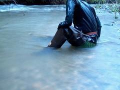IM003709 (hymerwaders) Tags: mud rubber gloves waders schlamm watstiefel gummihanschuhe