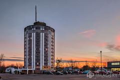Gabes Tower (AP Imagery) Tags: tower abandoned hotel inn kentucky ky motel motor owensboro gabes cylindrical triplett
