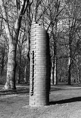 Karl Liebknecht (spinhall) Tags: leica berlin monument by creative commons summicron karl sa mm monochrom 50 tiergarten liebknecht blitzhall