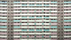 candy block (Philippe Put) Tags: life city summer people living town big high singapore apartment flat outdoor pastel balcony decoration mint frame block rise commonwealth queensway
