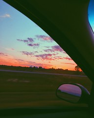 (Meg4nnn) Tags: beautiful skyline twilight clouds sky nature scenery landscape vsco iphonephoto adventure explore sunset driving drive carride roadtrip july summer