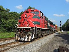 FXE 4063 and 4087 (Trains & Trails) Tags: fxe ferromex emd widecab sd70ace railroad train engine locomotive diesel transporation pennsylvania fayetttecounty broadford 4063 q29927