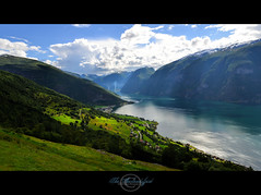 The Aurlandsfjord (geirkristiansen.net.) Tags: deep sigma1224mmf4556mkii blue west nikon d800 nature scenic aurland view norway angle wide fjord sognogfjordane no