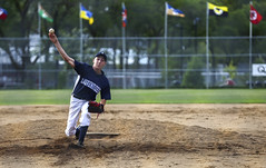 The Pitch (Danny VB) Tags: jeuxduqubec qubec montreal canada summer july throwing pitch baseball laurentides jdq jdq2016