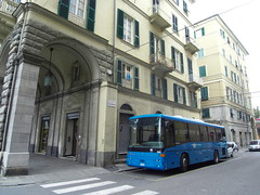 Suburban buses at La Spezia (Italy) (photobeppus) Tags: buses urban transport vehicles motor street photography streets laspezia