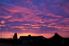 Sunrise over Billinge (ianandbarbara.bonnell@btinternet.com) Tags: uk england sky sun weather silhouette clouds sunrise dawn lancashire sthelens wigan merseyside billinge